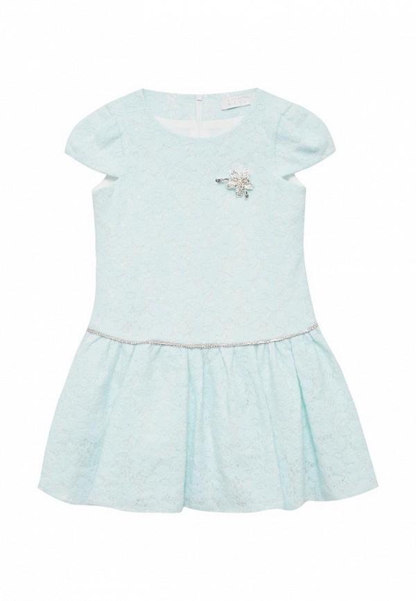 платье letty для девочки, голубое