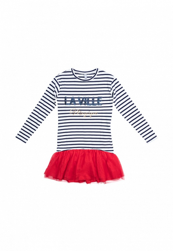 платье s'cool для девочки, разноцветное