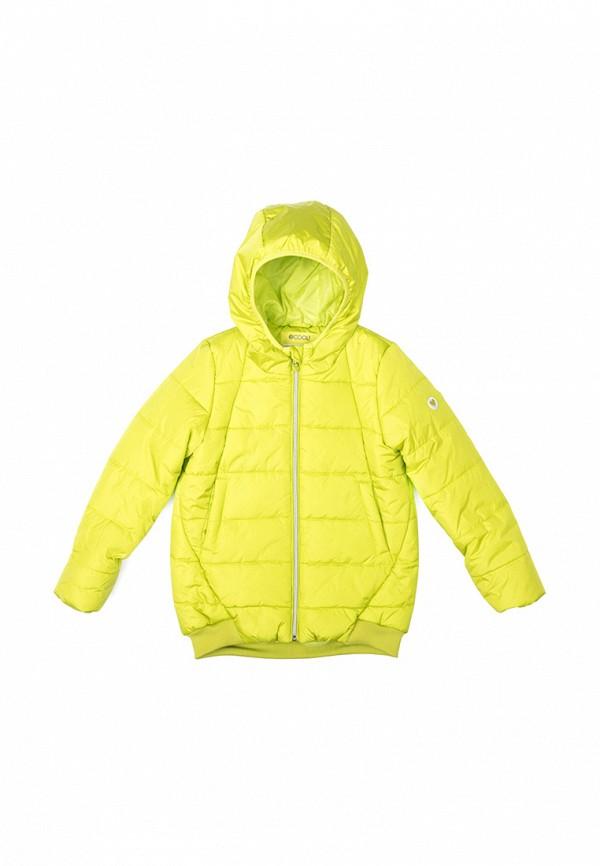куртка s'cool для девочки, зеленая