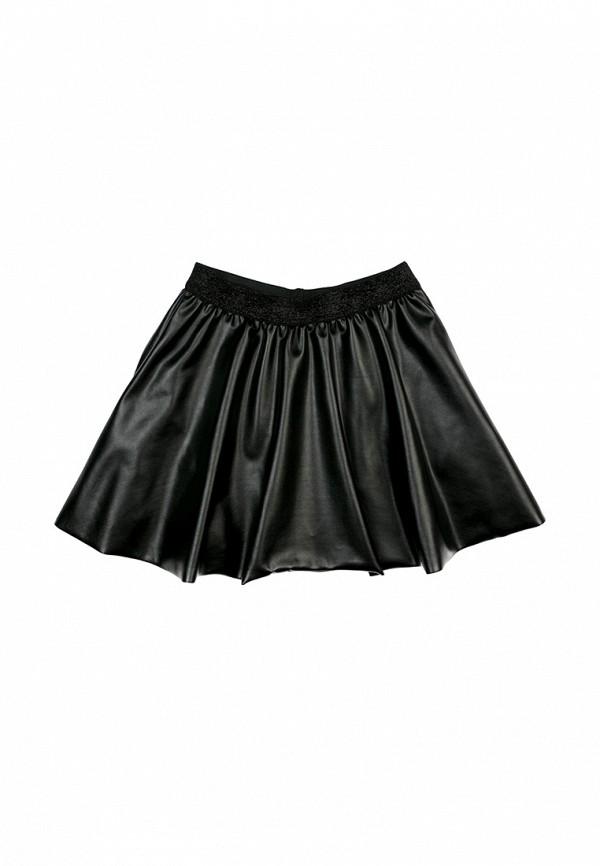 юбка s'cool для девочки, черная