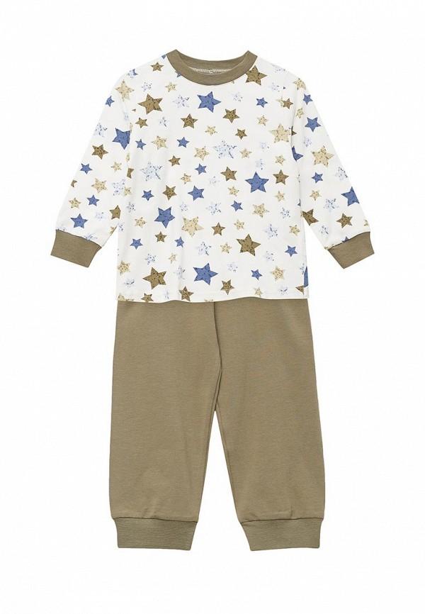 пижама fleur de vie для девочки, разноцветная