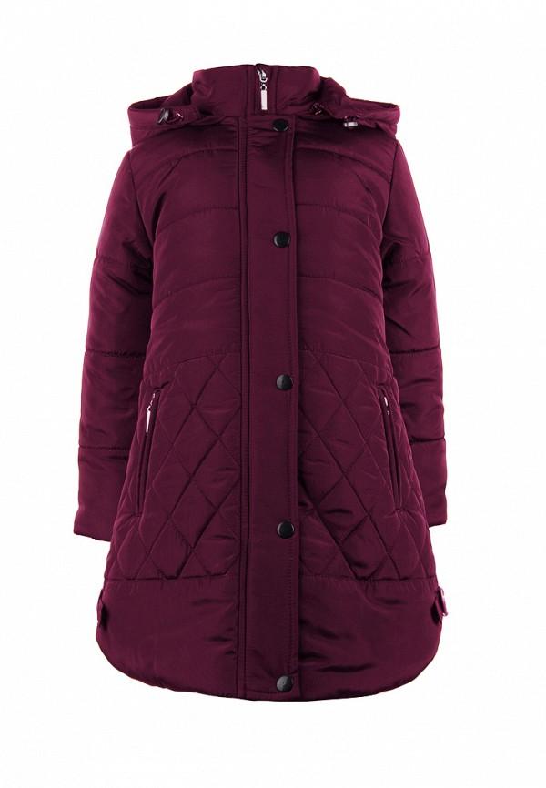 куртка irby style для девочки, бордовая
