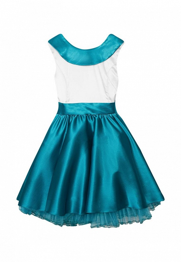 платье shened для девочки, бирюзовое