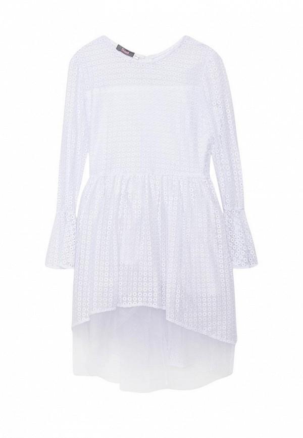 повседневные платье shened для девочки, белое