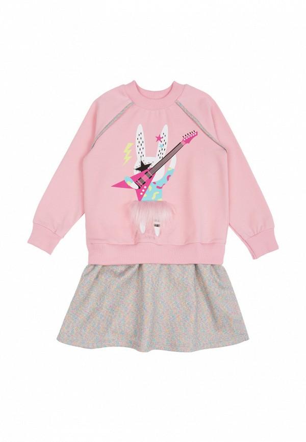 платье bell bimbo для девочки, розовое