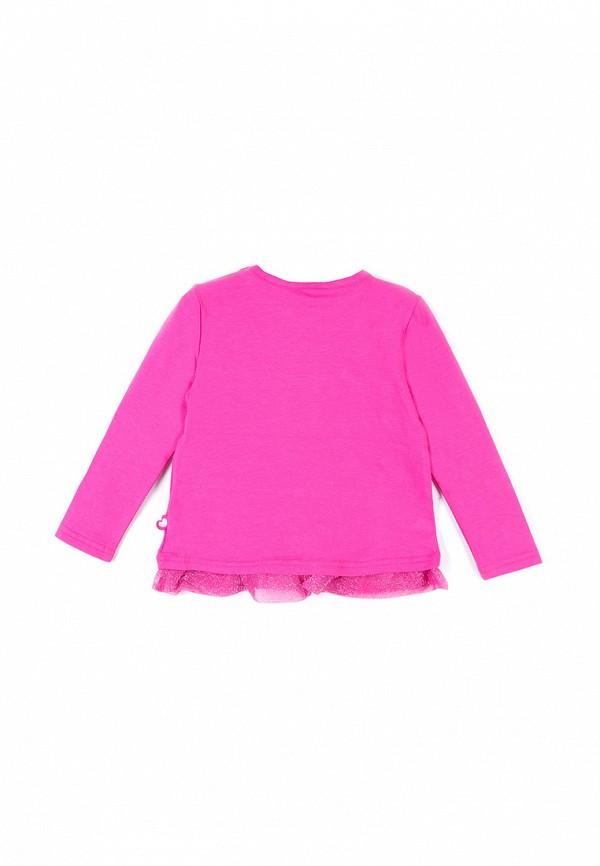 Лонгслив для девочки Coccodrillo цвет розовый  Фото 2