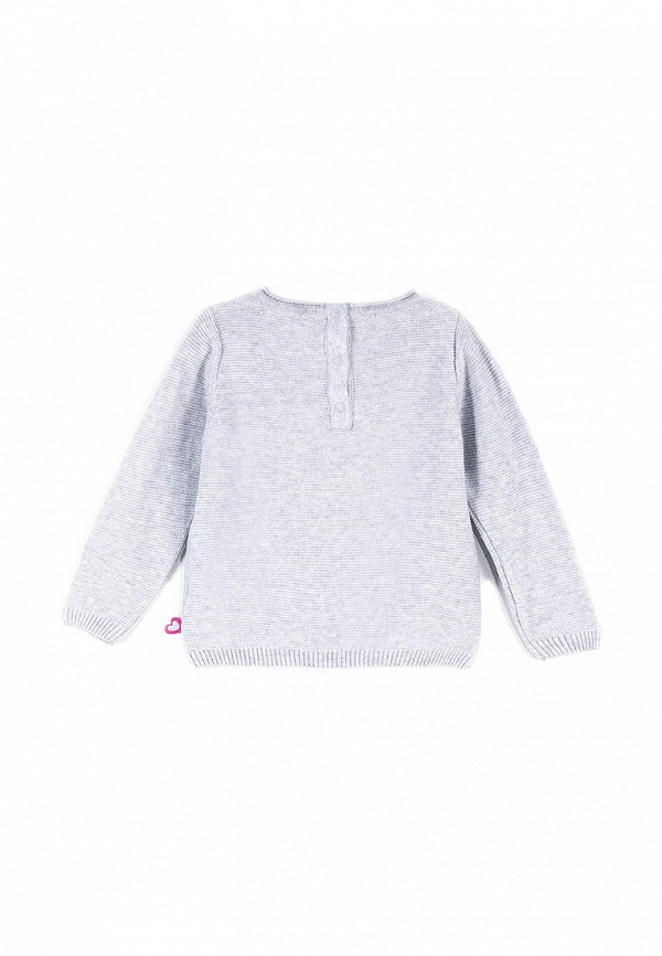 Джемпер для девочки Coccodrillo цвет серый  Фото 2