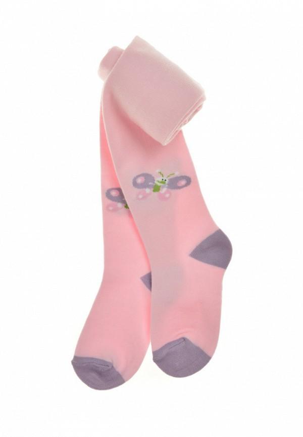 колготки duna для девочки, розовые