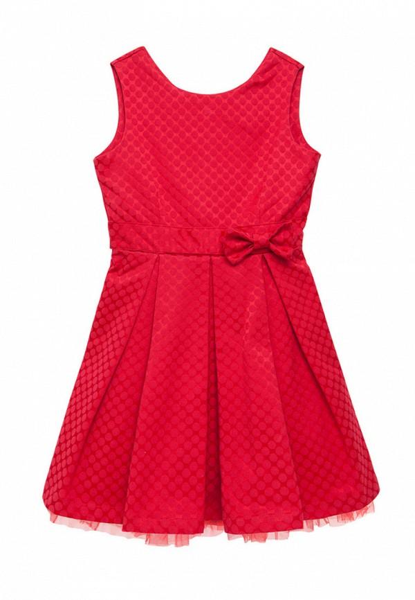 платье cookie для девочки, красное