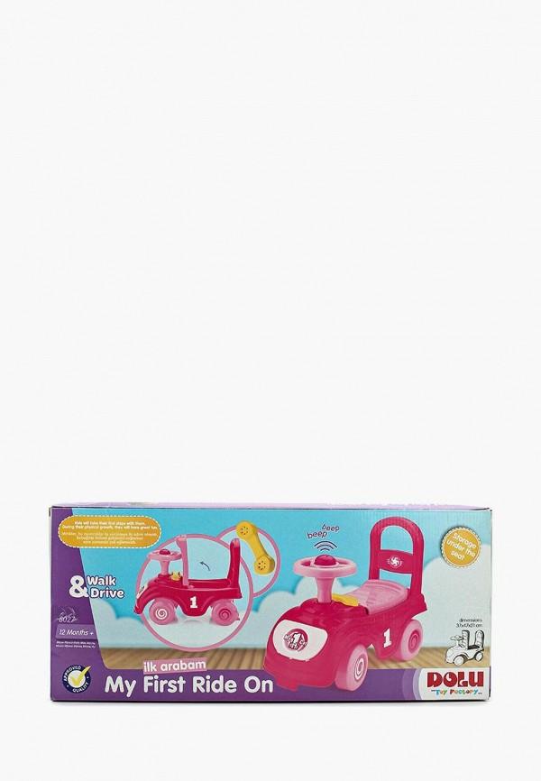 Купить Игрушка Dolu, Мой первый автомобиль-каталка, mp002xg005d0, розовый