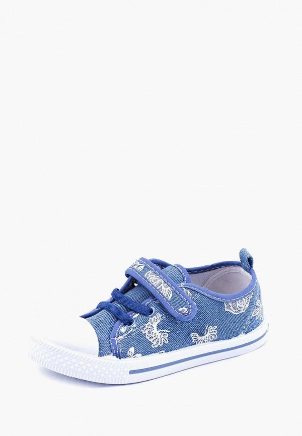 Кеды для девочки Coccodrillo цвет голубой