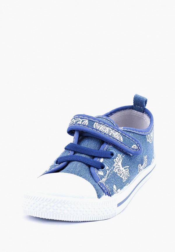 Кеды для девочки Coccodrillo цвет голубой  Фото 2