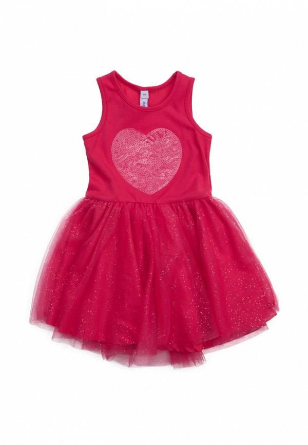 платье playtoday для девочки, розовое