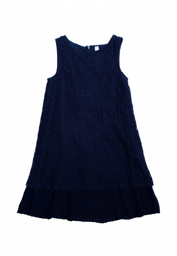 платье s'cool для девочки, синее