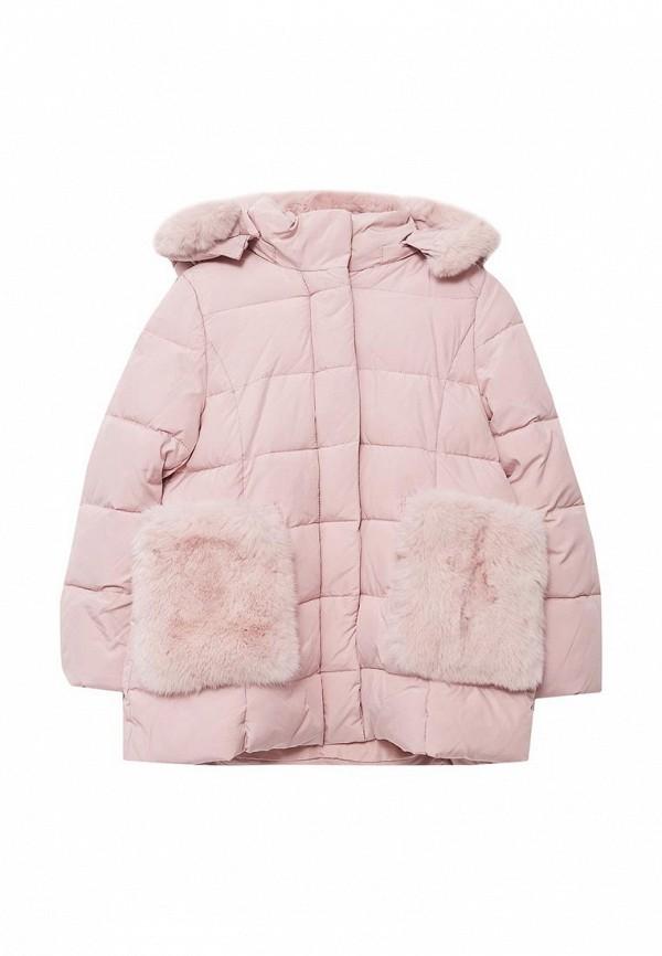 куртка kiwiland для девочки, разноцветная