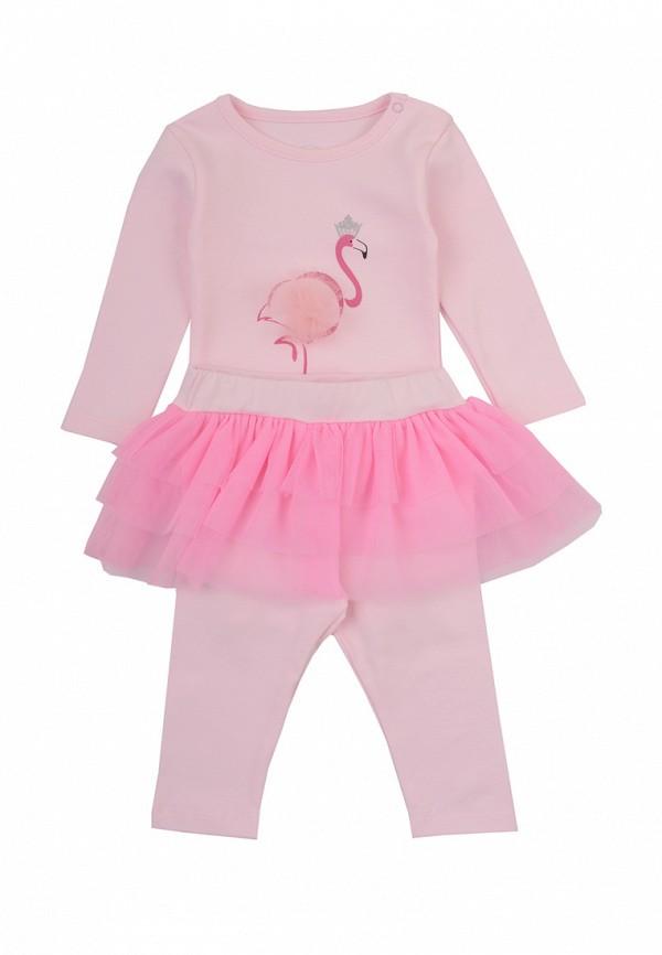 Комплект боди и брюки Фламинго текстиль