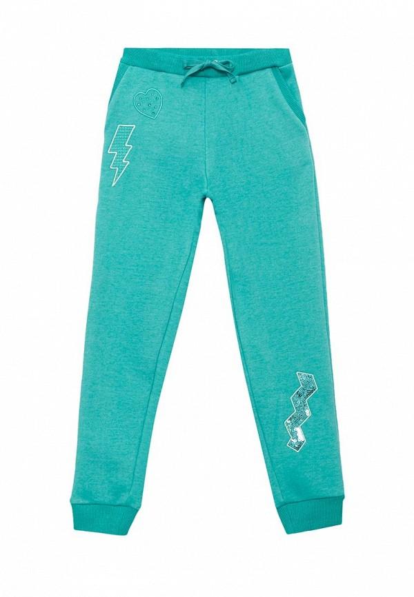 спортивные спортивные брюки fleur de vie для девочки, бирюзовые