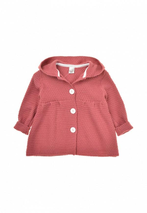 кардиган фламинго текстиль для девочки, розовый