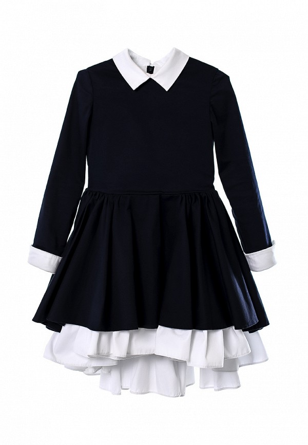 повседневные платье malyna для девочки, синее