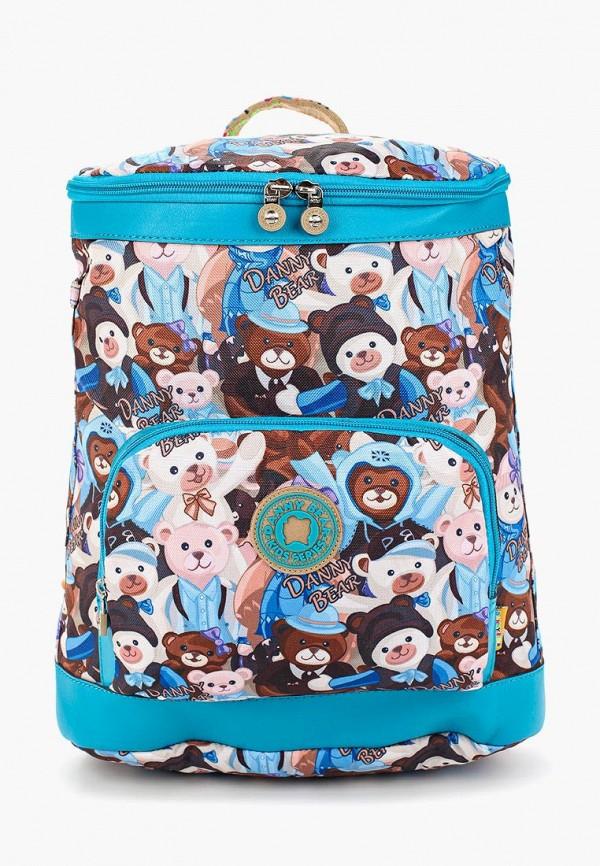 рюкзак danny bear для девочки, разноцветный