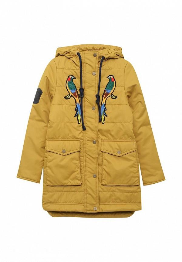 Купить Куртка утепленная Аврора, Афина, MP002XG006QD, желтый, Весна-лето 2018