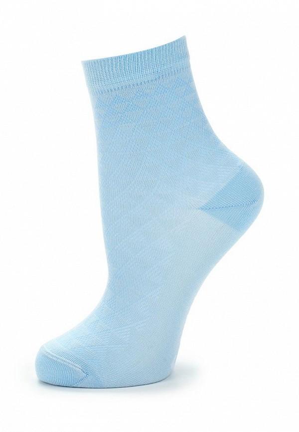 носки conte kids для девочки, голубые