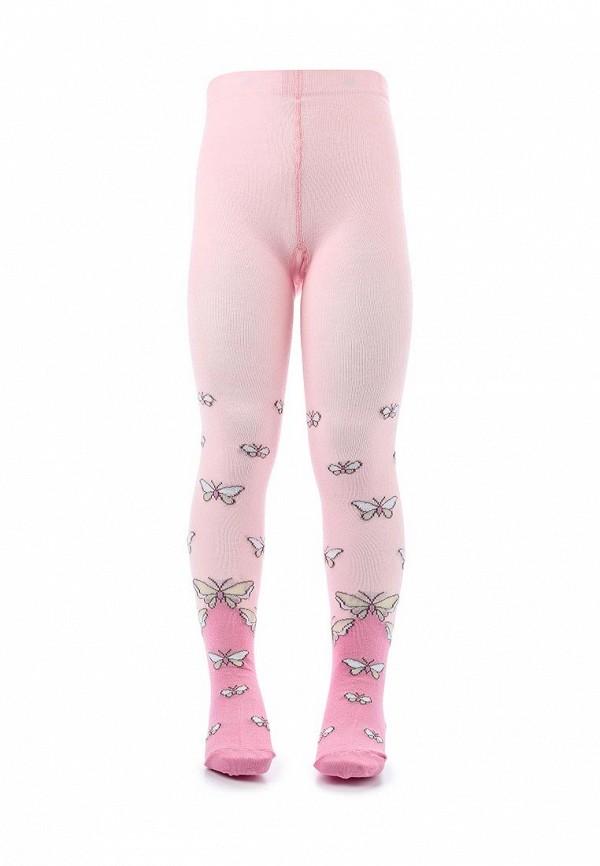 колготки брестские для девочки, розовые
