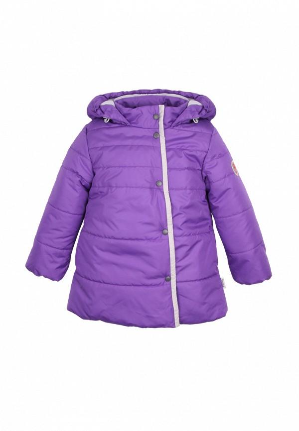 куртка zukka для девочки, фиолетовая