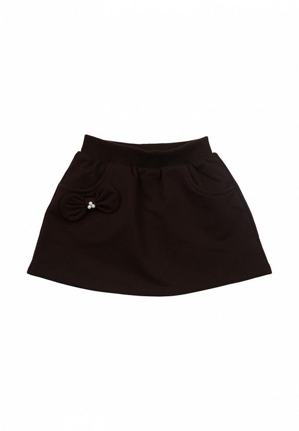 юбка mini maxi для девочки, коричневая