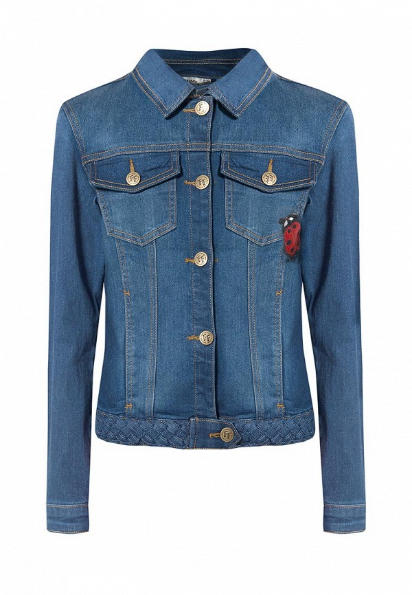 Купить Куртка джинсовая Finn Flare, MP002XG007Q6, голубой, Весна-лето 2018