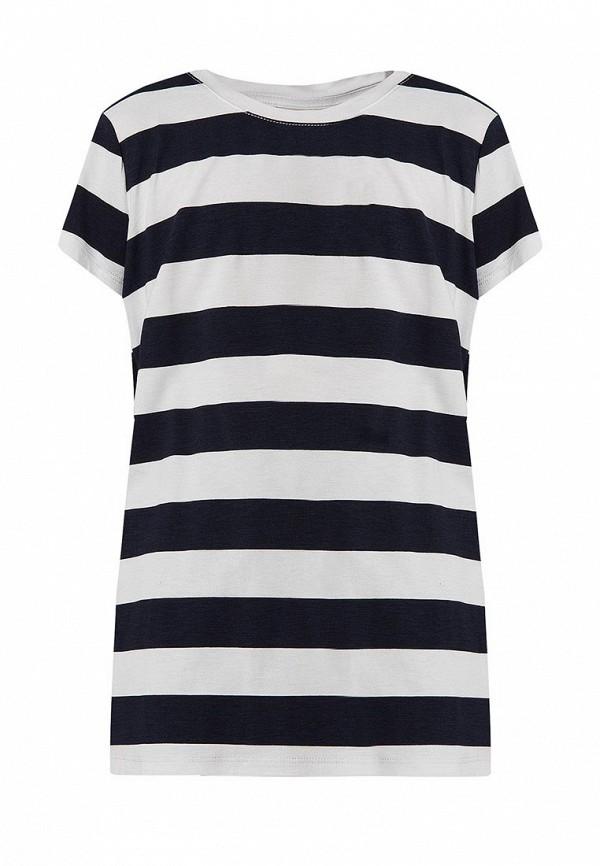 футболка finn flare для девочки, синяя
