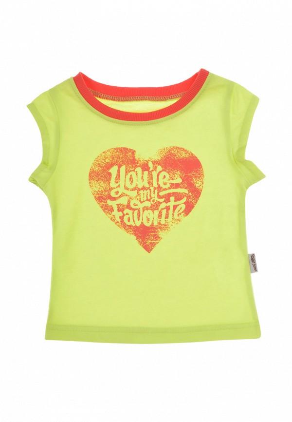 футболка с коротким рукавом robinzon для девочки, зеленая