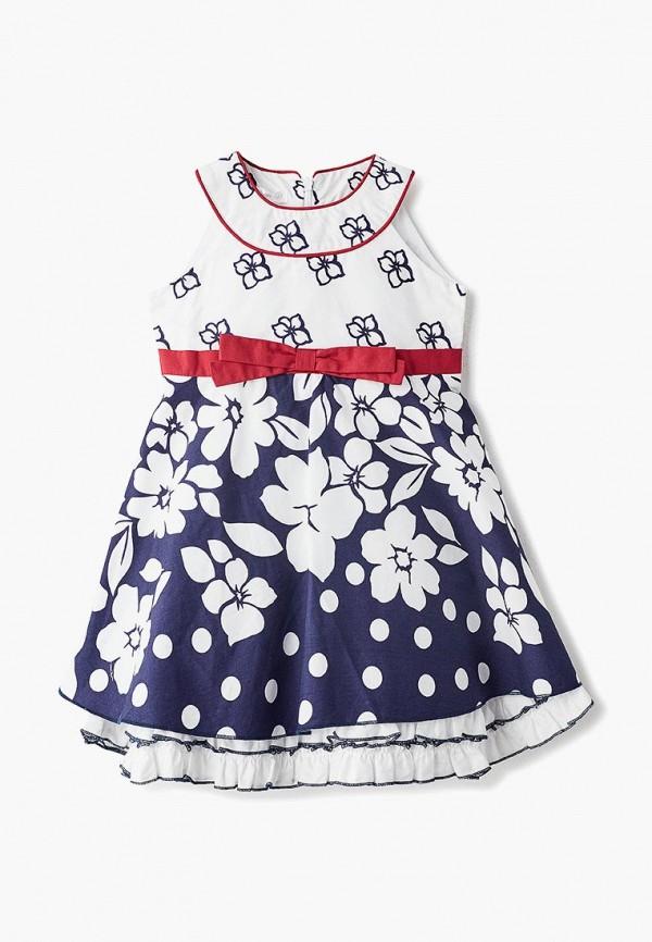 повседневные платье mes ami для девочки, белое