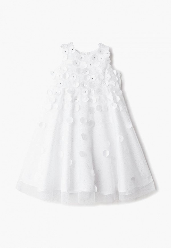 платье mes ami для девочки, белое