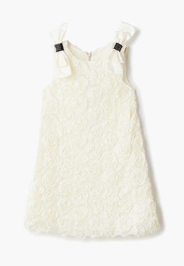 платье mes ami для девочки, бежевое