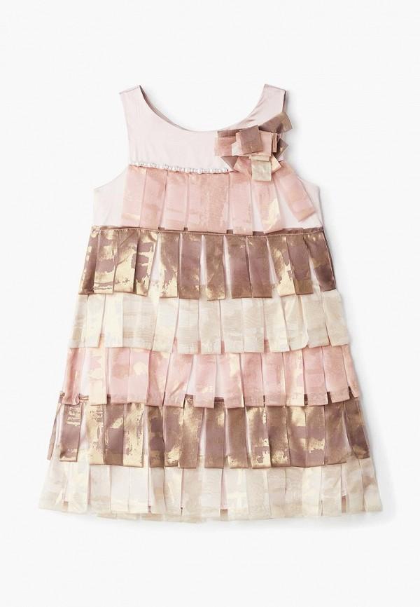 платье mes ami для девочки, разноцветное