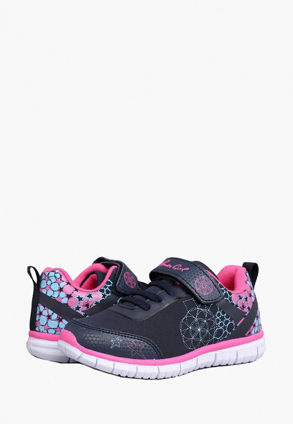 Кроссовки для девочки Honey Girl цвет разноцветный  Фото 2