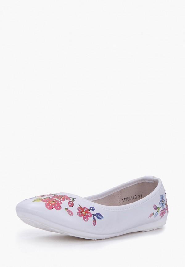 Балетки для девочки T.Taccardi цвет белый