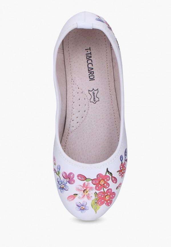 Балетки для девочки T.Taccardi цвет белый  Фото 3