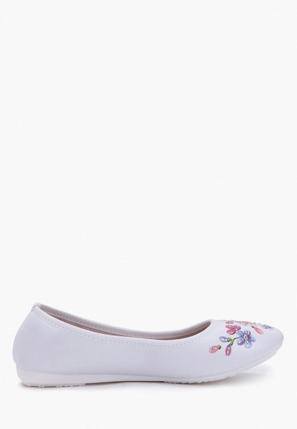 Балетки для девочки T.Taccardi цвет белый  Фото 5