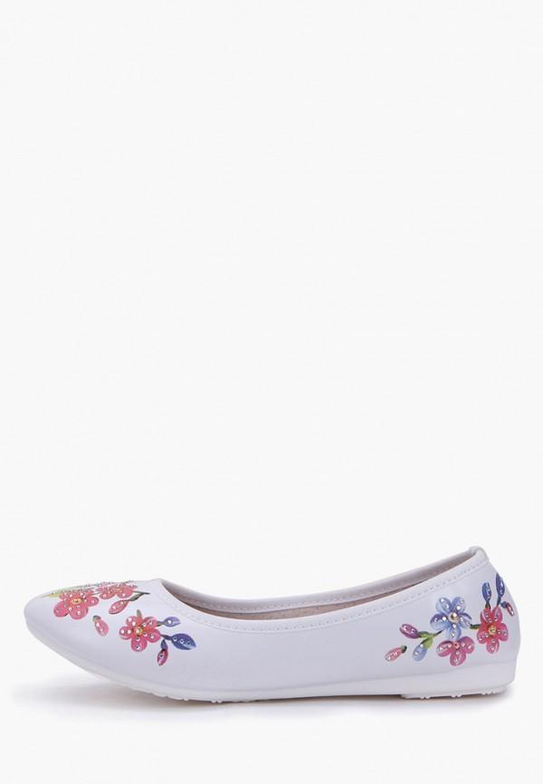 Балетки для девочки T.Taccardi цвет белый  Фото 6