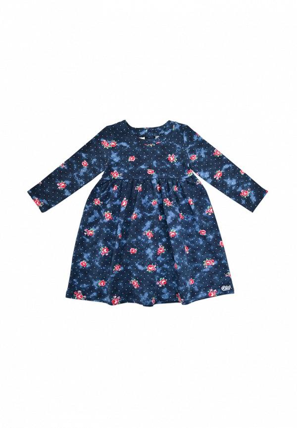 повседневные платье кит для девочки, синее