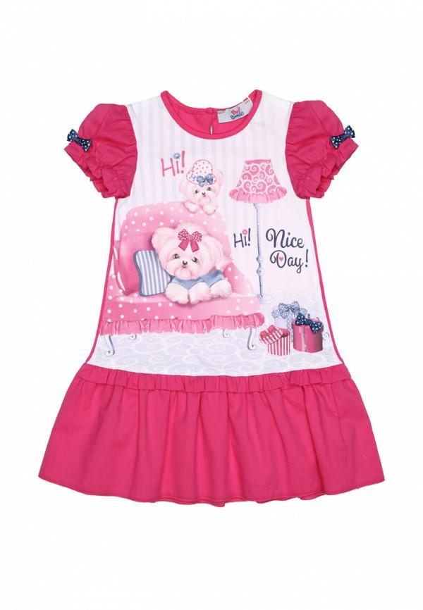 повседневные платье bell bimbo для девочки, розовое