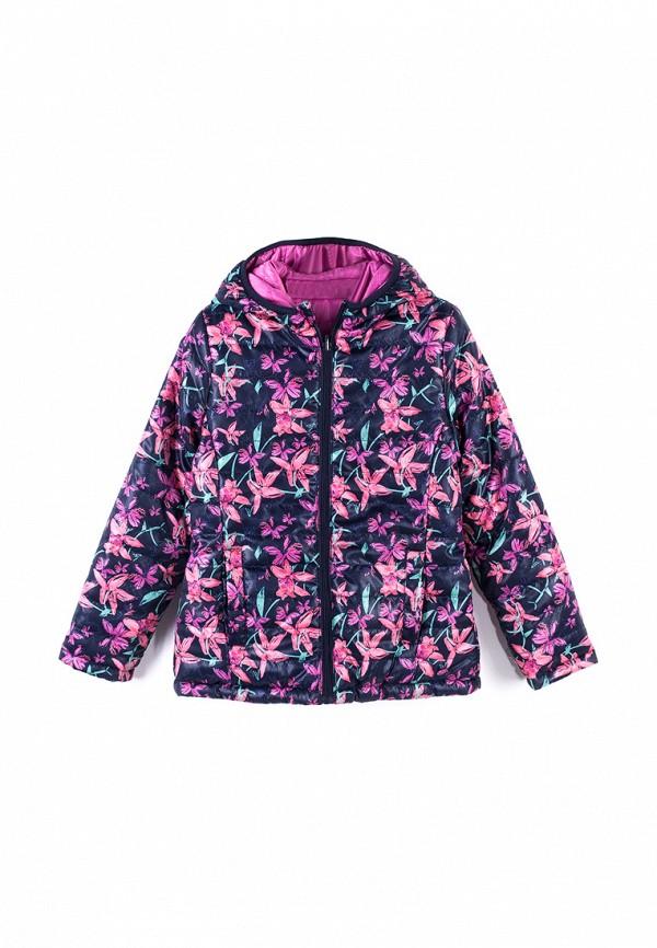 Куртка для девочки утепленная Coccodrillo цвет разноцветный
