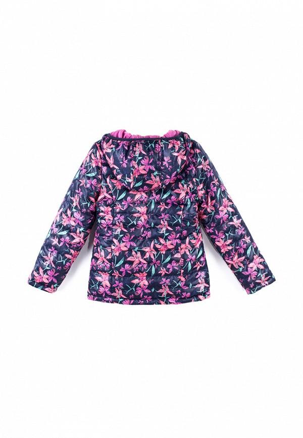 Куртка для девочки утепленная Coccodrillo цвет разноцветный  Фото 2