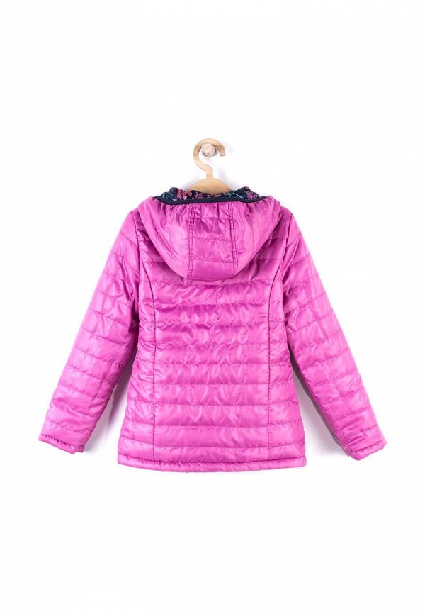 Куртка для девочки утепленная Coccodrillo цвет разноцветный  Фото 4