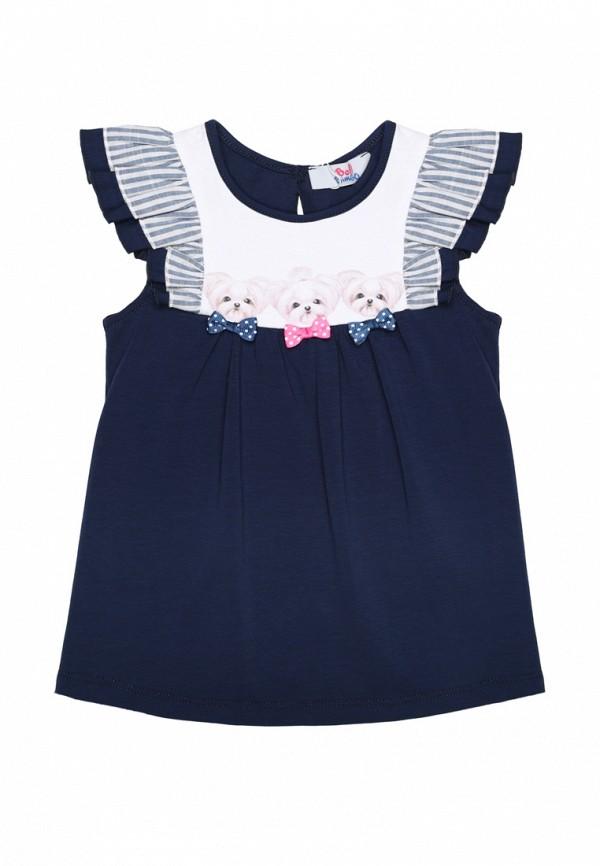 футболка bell bimbo для девочки, синяя