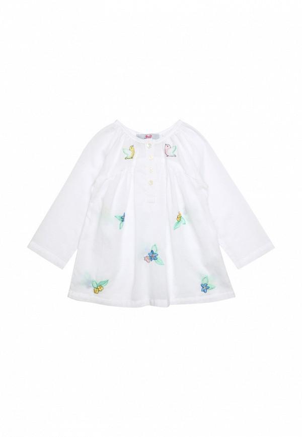 Купить Блуза Bell Bimbo, белый, girls, Весна-лето 2018, Футболки и рубашки