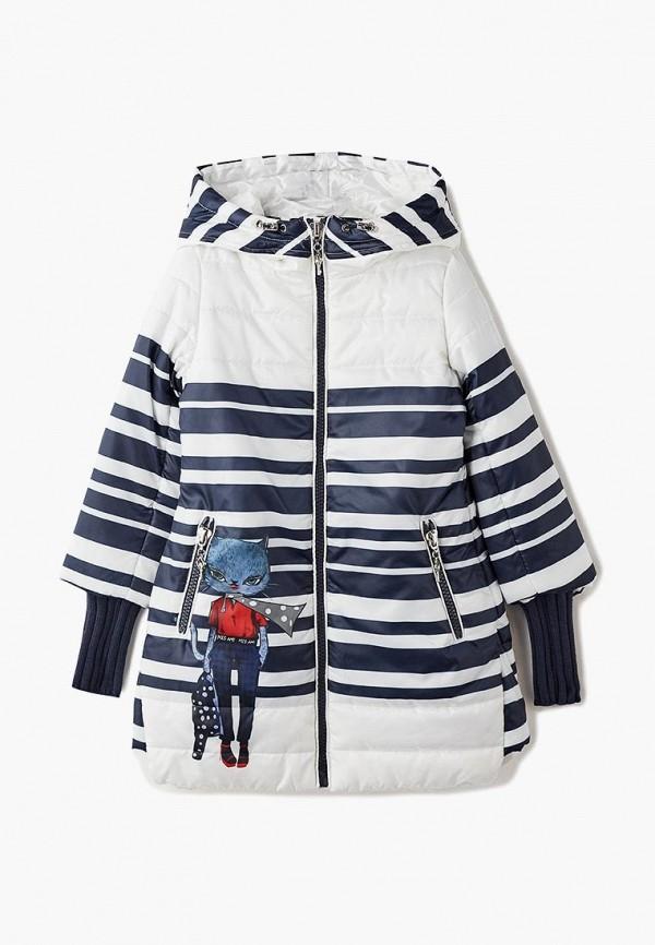 куртка mes ami для девочки, белая