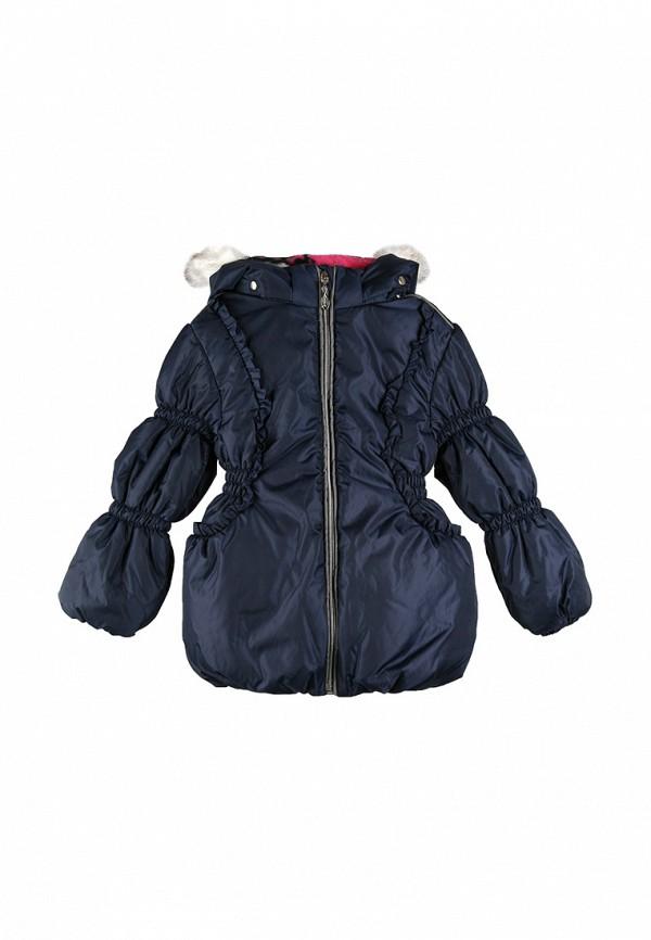 куртка kat для девочки, синяя